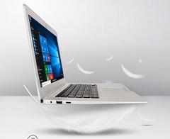 14.1 inch laptop 4G RAM+64G SSD 1080p Quad Core ultrathin slim smart notebook computer win10 white 35.1cm*23.2cm*1.7cm