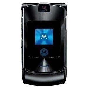 Original Motorola RAZR V3 Mobile phone Refurbished Unlocked Black
