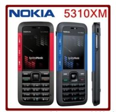 New Phone Nokia 5310 XpressMusic Unlocked Phone Bluetooth MP3 FM Quality Warranty Red