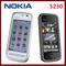"Refurbished smartphone Nokia 5230 GPS 3G 3.2"" Bluetooth JAVA 2MP Unlocked Mobile Phone Black"