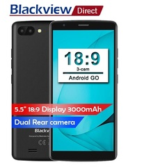 2019 New Phone Blackview A20 Smartphone Dual Rear Camera 5.5