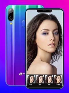 Smart phone K-TOUCH X21 6.3inch 4G+64G/128G 16MP+13MP 4G LTE Face&Fingerprint  Dual SIM smartphone gradient 4+64g