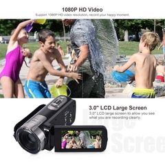 Digital Video Camera HDV-302P 24MP 1080P Full HD 16X Digital Zoom 3.0 Inch Anti-shake 3.0MP