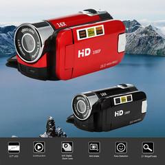 Fashion 2.7 inch TFT LCD HD 1080P 16MP 16X Digital Zoom Camcorder Video DV Camera Red black