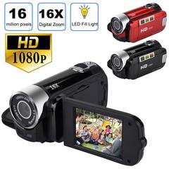 Fashion 2.7 inch TFT LCD HD 1080P 16MP 16X Digital Zoom Camcorder Video DV Camera Black