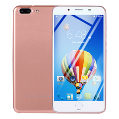 Brand new original smart phone 2GB+16GB Dual Core 5mp +3mp 7S Smartphone 5.5 Inch+3G network pink
