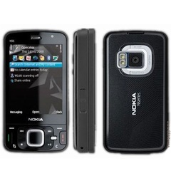 Refurbished phone Nokia N96 Wifi GPS Bluetooth 5MP Camera Phone Unlocked GSM WCDMA black