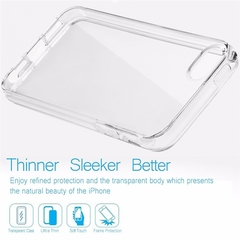 Shockproof phone battery coque,cover,case silicon silicone for apple iphone/Android Transparent one size