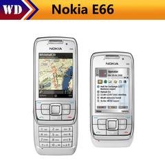Refurbished phone Nokia E66 Unlocked 3G Mobile Phone WIFI GPS Bluetooth black