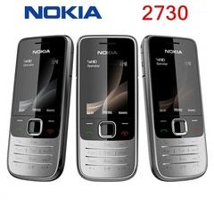 New phone Original phone Nokia 2730 Cheap phones Unlocked GSM WCDMA red