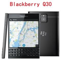 Blackberry Q30 Original Unlocked Blackberry passport Q30 Quad Core LTE 3GB RAM 32GB ROM 13.0MP black