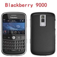 Unlocked Original BlackBerry 9000 Mobile Phone GPS WIFI 3G Cell Phone Refurbished black