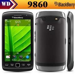 Refurbished Original Blackberry 9860 3G Mobile Phone 3.7''Touch Screen 768MB RAM 4GB ROM Smart Phone black