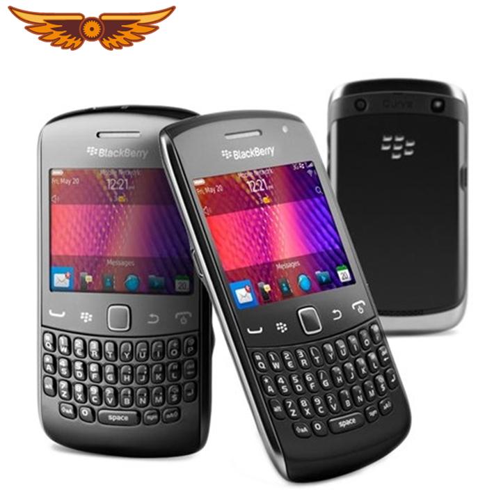 Unlocked Blackberry 9360 Cellphone GPS 3G Wifi NFC 5MP Camera Mobile Phones  Refurbished Smartphone black