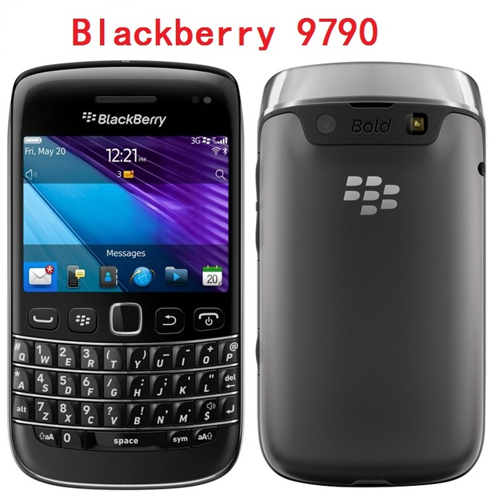 Original blackberry 9790 Mobile phone 3G Wifi GPS Cellphones with Touch Screen QWERTY Keyboard black