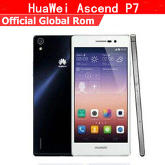 Refurbished phone Huawei P7 2+16GB -5 ''screen-13+8MP- dual sim smartphone hua wei p7 black