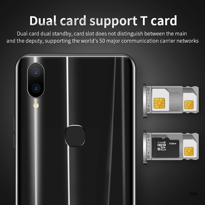 2019 New X21 6.2 Inch Screen Andriod Mobile Phones 4GB+ 64GB smart phone 16.0MP+8MP Smartphone red 5