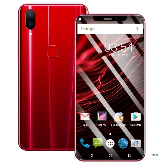 2019 New X21 6.2 Inch Screen Andriod Mobile Phones 4GB+ 64GB smart phone 16.0MP+8MP Smartphone red 15