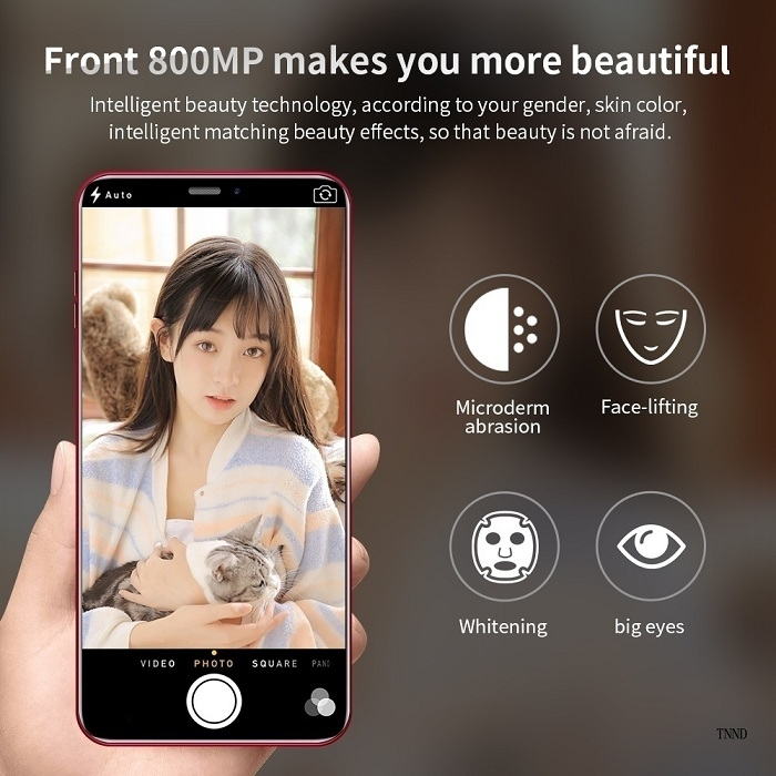 2019 New X21 6.2 Inch Screen Andriod Mobile Phones 4GB+ 64GB smart phone 16.0MP+8MP Smartphone red 3