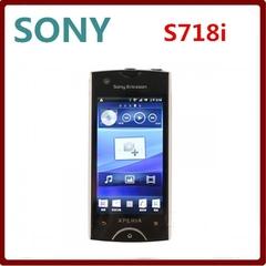Refurbished phone Sony Ericsson Xperia Ray Mobile Phone ST18i 8MP GSM 3G WIFI GPS Bluetooth & Gift black