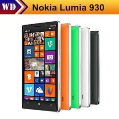 Refurbished Original Unlocked Nokia Lumia 930 L930 Mobile phones 20MP Camera LTE 32GB ROM 2GB RAM black