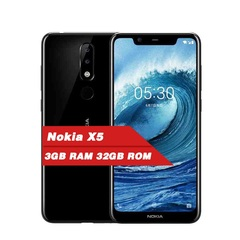 Refurbished Nokia X5  3060mAh 3G + 32G  3 Camera Dual Sim  Fingerprint ID 5.86