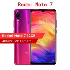 2019 New  Xiaomi Redmi Note 7 3GB +32GB  Phone   48MP +13MP Dual Camera 6.3