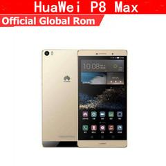 Refurbished phone HuaWei P8 Max 4G FDD LTE Smart Phone Kirin 935  6.8 Inch  3GB+32/64GB  13.0MP silver 3g+32g