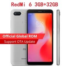 Original Xiaomi Redmi 6 3GB 32GB Mobile Phone 5.45
