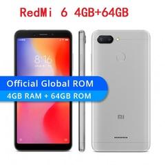 Original Xiaomi Redmi 6 4GB 64GB Mobile Phone 5.45