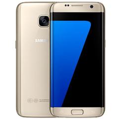 Refurbished Samsung Galaxy S7 Edge Smartphone 5.5'' 4GB+64GB double SIM 12MP 4G Smart phone gold
