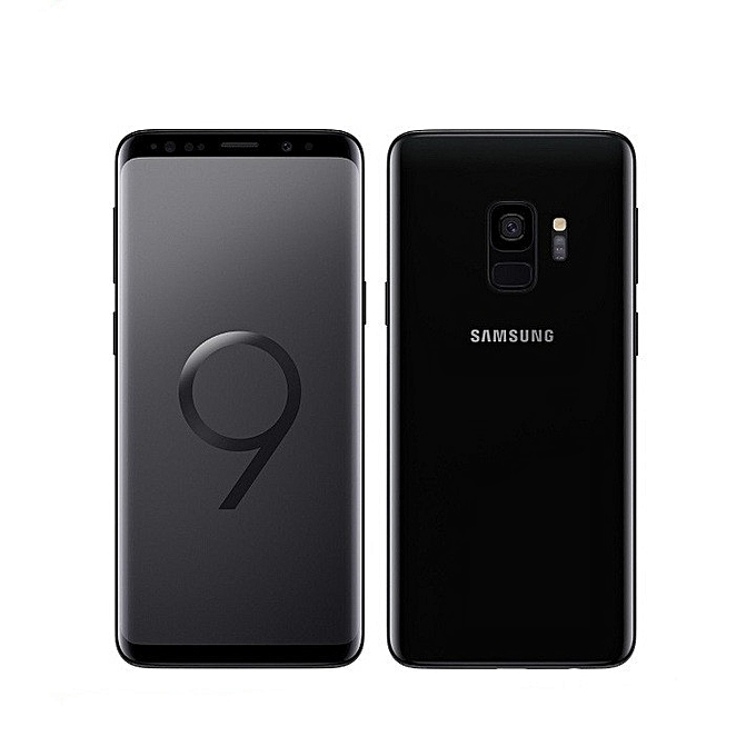 "Refurbished Samsung Galaxy S9 Smartphone 5.8"" inch 12MP+8MP 4GB +64GB Original SAMSUNG s9 single sim black"