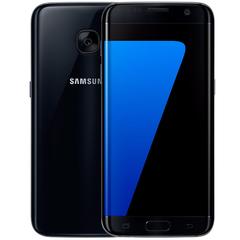 Refurbished Samsung Galaxy S7 Edge Smartphone 5.5'' 4GB+32GB double SIM 12MP 4G Smart phone black 4+32g