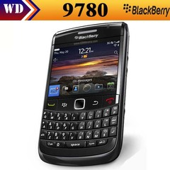 Refurbished Blackberry 9780 GSM WCDMA 3G 2.44 Inch 5MP 512MB RAM 1500mAh GPS WIFI Cell Phone black