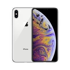 Refurbished Apple iPhone XS Max 64GB  Unlocked Dual Sim Cards 6.5 inch  4G Lte Apple Smart Phone silver 64g
