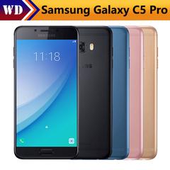 Refurbished Samsung Galaxy C5 Pro 5.2 inch 4GB RAM 64GB ROM LTE 16MP Android 2600mAh Dual SIM black