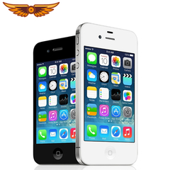 Refurbished smartphone iphone 4s 8GB+512MB 3.5 inch unlocked iphone4s 5MP 8g smart phone black 8G