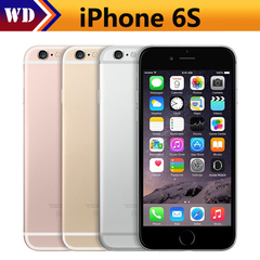 Refurbished unlock iPhone 6S -32GB+2GB -12 MP+5MP- 4.7'+4G without Fingerprint Smartphone iPhone6S random color 32g