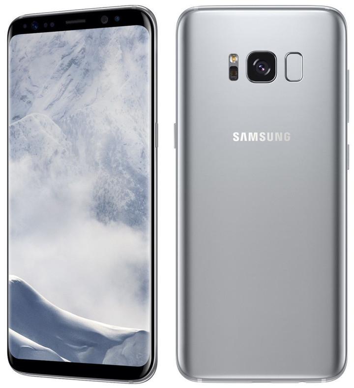 Refurbished Samsung Galaxy S8  64GB ROM+4GB RAM, 3500mAh,12+8MP, 5.8Inch  Dual sim Smartphone silver dual sim