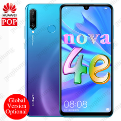 2019 Huawei P30 Lite Global Version 6GB/4GB+128GB Smartphone 32MP+24MP Front Camera Android 9.0 blue 4+128gb