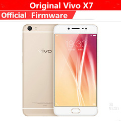 Refurbished Smartphone vivo x7 4G+64G 13MP+16MP 4G LTE 3000mah Cell Phones smart phone gold 4+64g