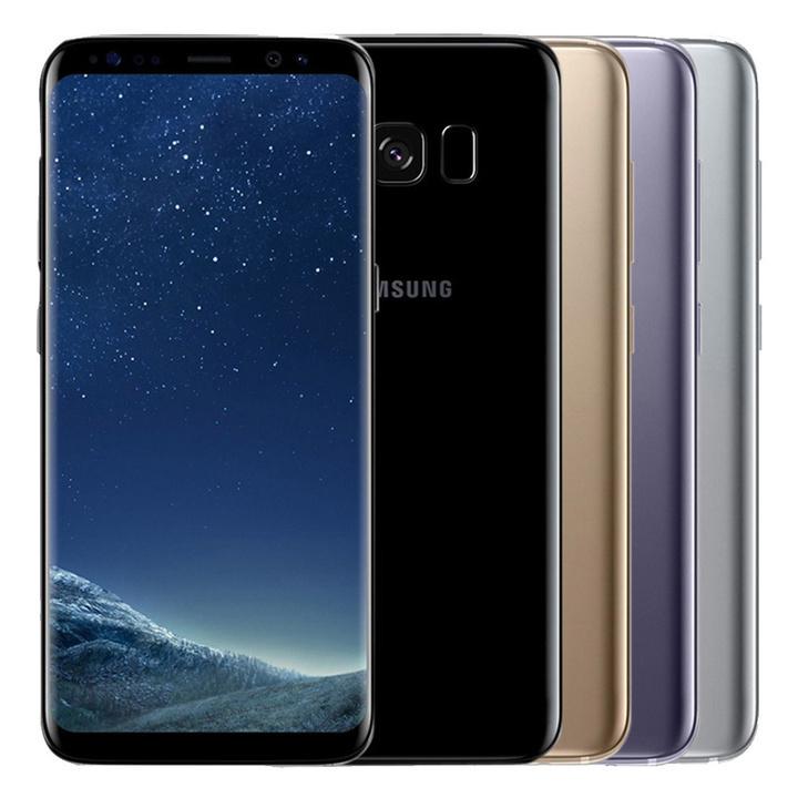 "Refurbished Samsung Galaxy S8 64GB ROM+4GB RAM 5.8"" 12MP+8MP smartphone with small black dot black 4+64g single sim"