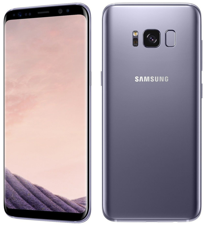 "Refurbished Samsung Galaxy S8 Plus 64GB+4GB 6.2"" 12+8MP smartphone sumsung S8+ with small black dot gray 4+64g single sim"