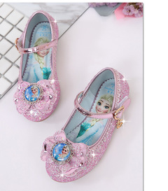 Girls Shoes Princess Shoes Kids Shoes Wedding Party Children Dress Shoes for Girls Shoes pink 27