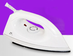 electric iron  Steam Iron With Adjusted Temperature Stainless Steel Baseplate Steamer For Clothes white
