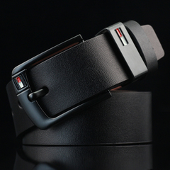 Buckle Belt Fashion Casual Leather genuine leather Cowhide belt belts men luxury strap male pin black common