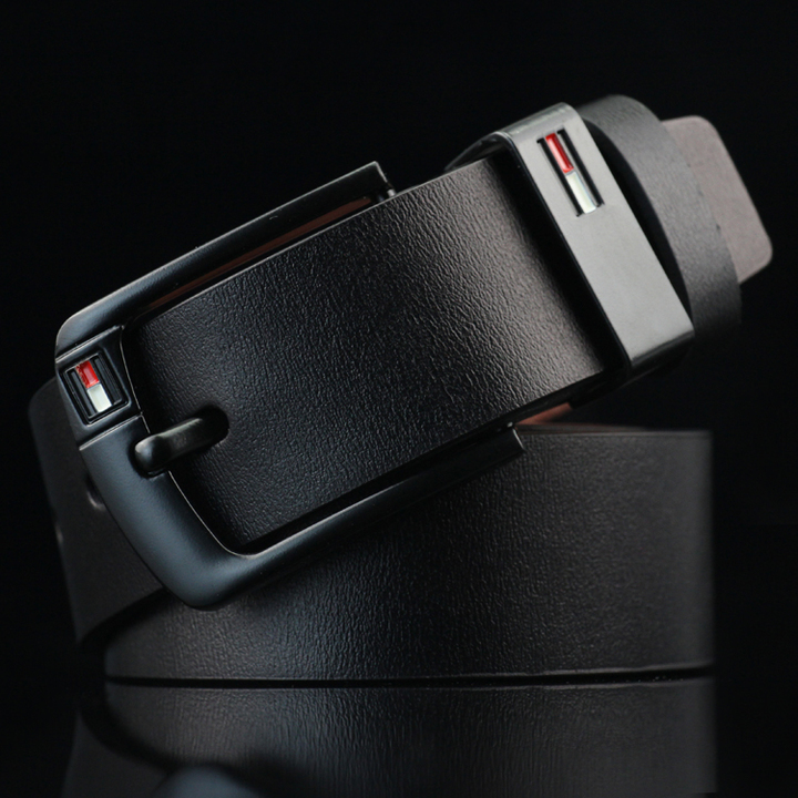 Buckle Belt Fashion Casual Leather genuine leather Cowhide belt belts men luxury strap male pin black common