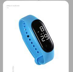 LED Smart Watches  Waterproof Watch Wristwatch Watch Digital Watch Sport Watch for Men and Women blue common