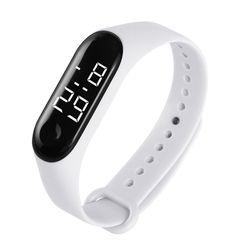 LED Smart Watches  Waterproof Watch Wristwatch Watch Digital Watch Sport Watch for Men and Women white common