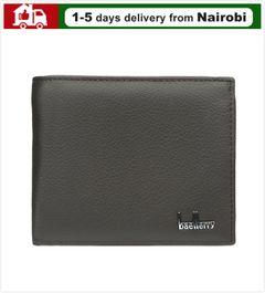 Men Wallets Men Purses Real Leather Wallet 2020 Lastest Style Short Wallets Zip Wallets Business brown 12cm*9.5cm*2cm